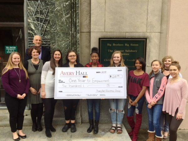 """This generous donation will sponsor one of the sixteen """"Empowerees"""" who are currently participating in the 2018 program."""